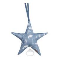 Csillag alakú zenélő játék - óceán - kék