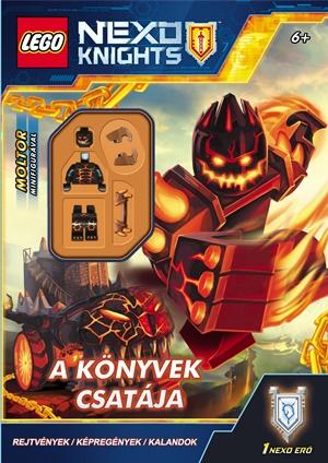 LEGO Nexo Knights - A könyvek csatája - ajándék minifigurával