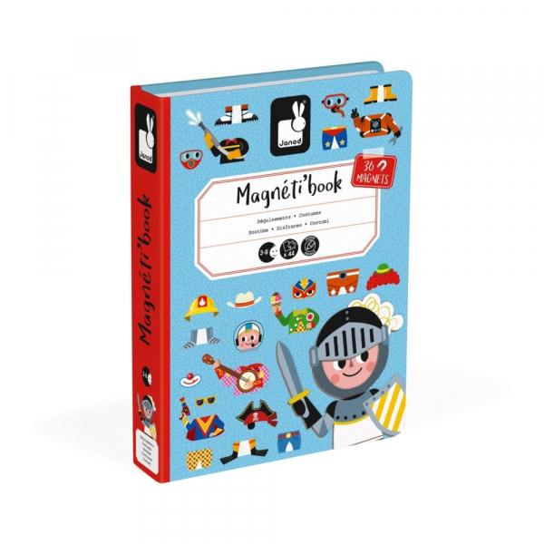 Mágneses könyv - Fiús öltöztető