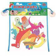 Fürdőjáték - Tapassz a csempére! - Dinoszauruszok