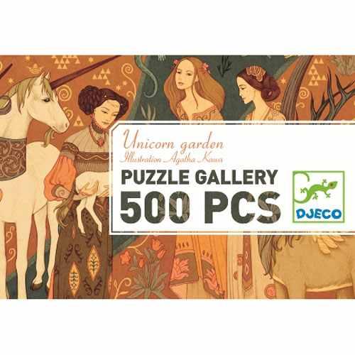 Puzzle - Az Egyszarvú és a hölgy