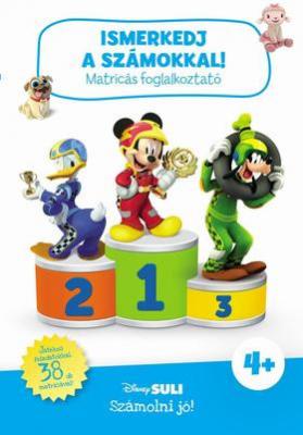 Ismerkedj a számokkal! - Matricás foglalkoztató - Disney Suli