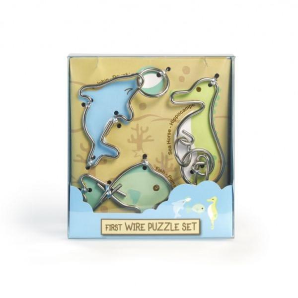 First Wire Puzzle Set - Vízi állatok