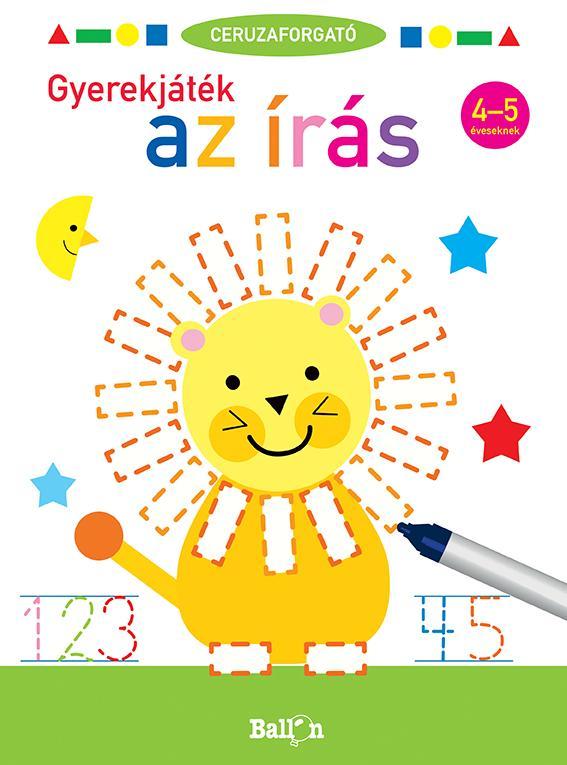 Ceruzaforgató - Gyerekjáték az írás 4-5 éveseknek