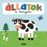 Állatok a tanyán– Képeskönyv kicsiknekösszekapcsolható puzzle darabokkal
