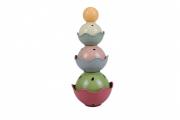 Öko toronyépítő játék - Gömbök