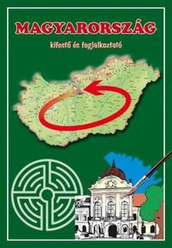 Magyarország - Kifestő és foglalkoztató