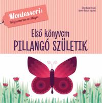 Első könyvem - Pillangó születik - Montessori: Megismerem a világot