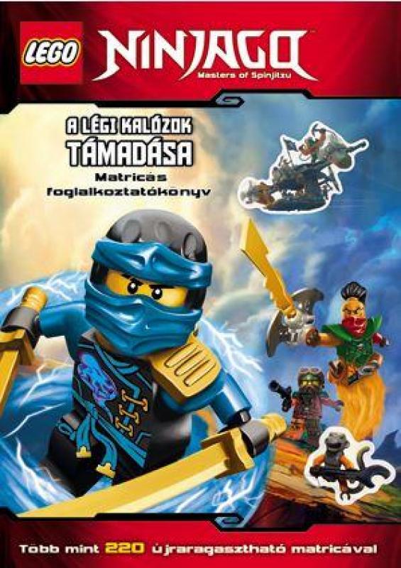 LEGO Ninjago - LEGO NINJAGO - A légi kalózok támadása - Matricás foglalkoztatókönyv