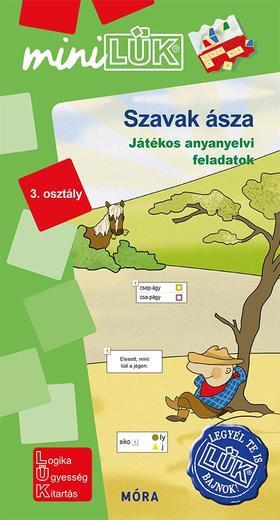 Szavak ásza - Játékos anyanyelvi feladatok 3. osztály - LDI552