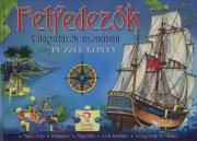 Felfedezők, világutazók nyomában - Puzzle könyv