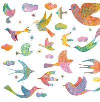 Falmatrica - Csillogó madarak