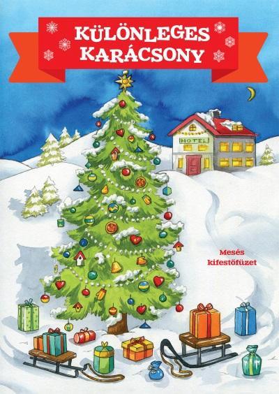 Különleges karácsony - Mesés kifestőfüzet