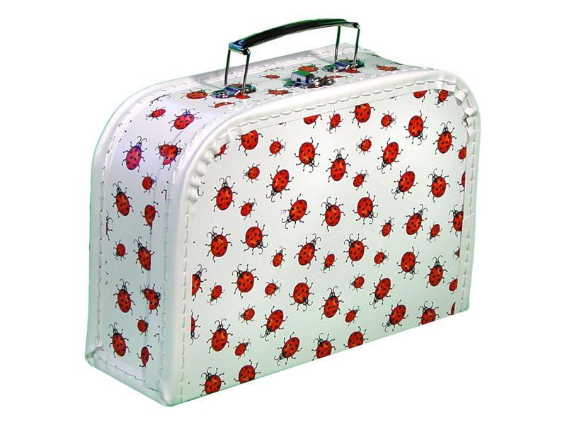 Bőrönd - Katicás