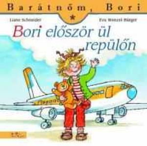 Bori először ül repülőn - Barátnőm, Bori füzetek