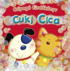 Cuki cica – Csipogó fürdőkönyv
