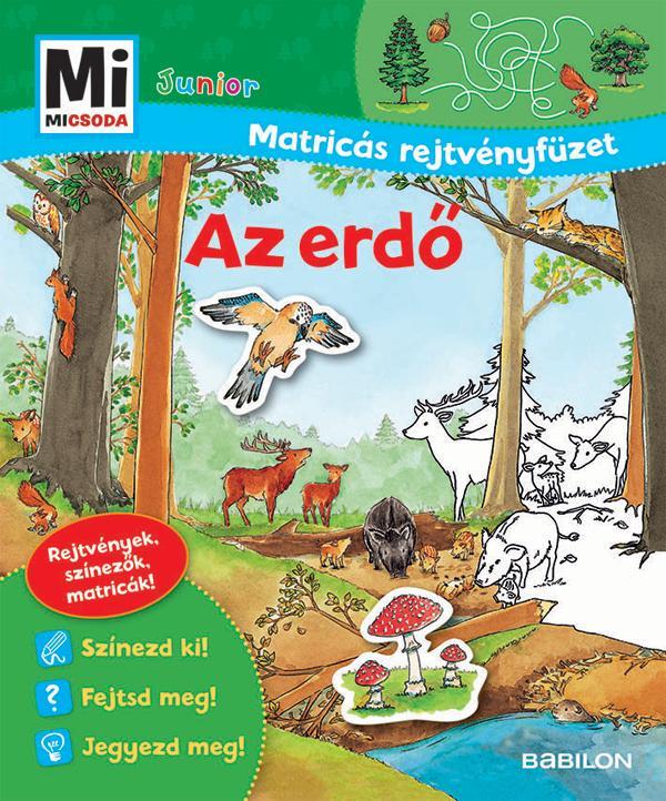 Mi Micsoda Junior Matricás Rejtvényfüzet - Az erdő