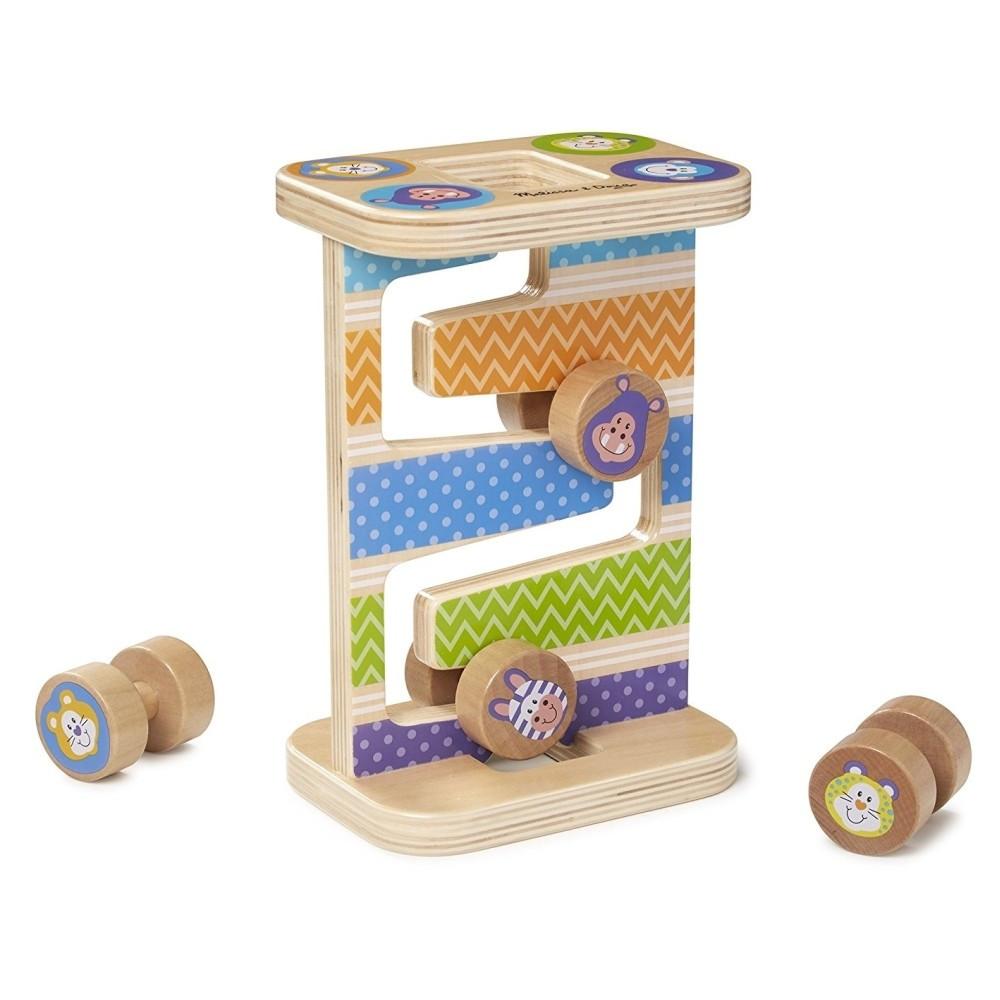 Fa készségfejlesztő játék - Cikk-cakk torony