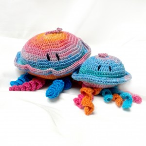 Miron - horgolt mini medúza