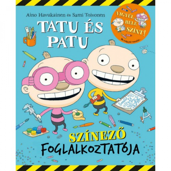 Tatu és Patu színező foglalkoztatója