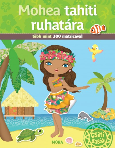 Mohea tahiti ruhatára - Több mint 300 matricával