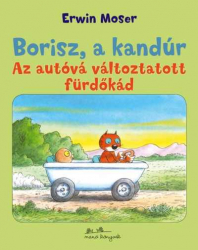 Az autóvá változtatott fürdőkád - Borisz, a kandúr