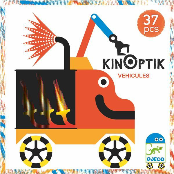 Optikai puzzle - Kinoptik - Járművek