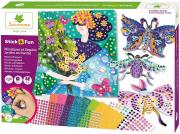 Mozaik és flitterkép készítés - Varázslatos kertek