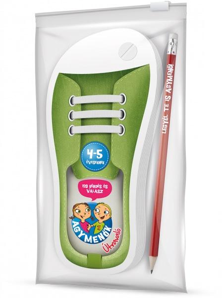 Agymenők - Útravaló ceruzával - Agymenők 4-5 éveseknek