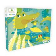Puzzle - Krokodil 36 db-os