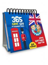Agymenők - Képes szótanuló naptár - 365 angol szó példamondatokkal 9-11 éveseknek