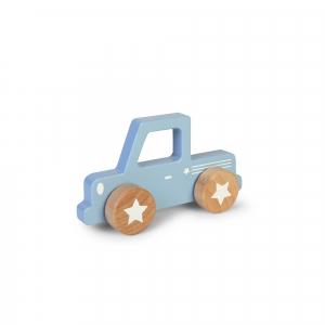 Fa játék autó - Pick up, kék