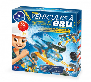 Tudományos készlet - Mini vízi járművek