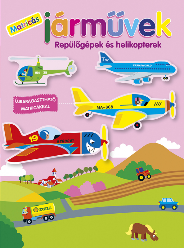 Matricás járművek - Repülőgépek és helikopterek
