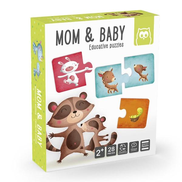Montessori Puzzle - Anya és kicsinye