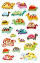 Cooky 3D matricák - Teknősbékák