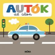 Autók az úton – Képeskönyv kicsiknek összekapcsolható puzzle darabokkal
