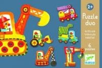 Párosító Puzzle - Járművek