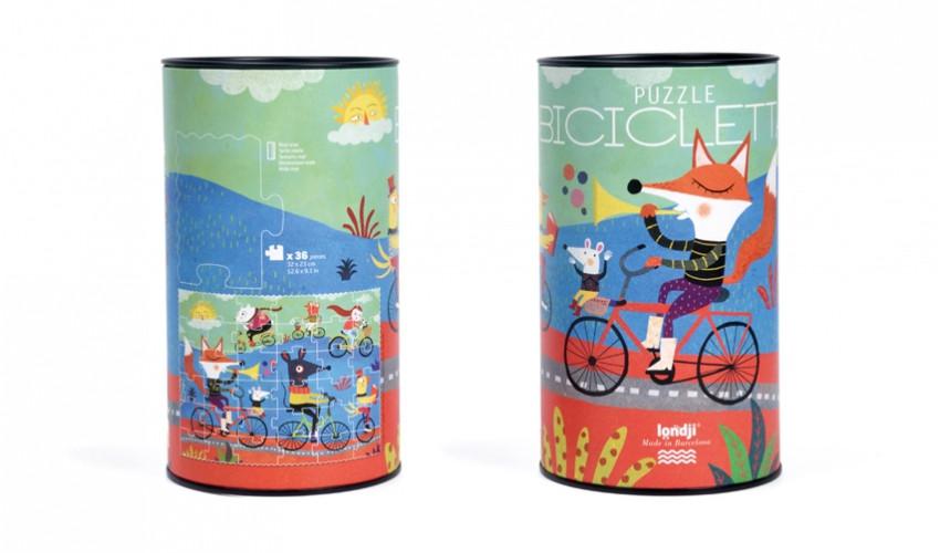 Puzzle - Biciklisták