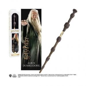 Harry Potter - Dumbledore varázspálca 3D könyvjelzővel