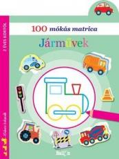 100 mókás matrica - Járművek
