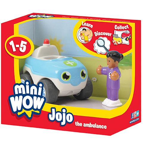 Mini Wow - Jojo, a mentőautó