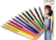 Miss Modeline - 12 duplavégű ceruza - Juliette