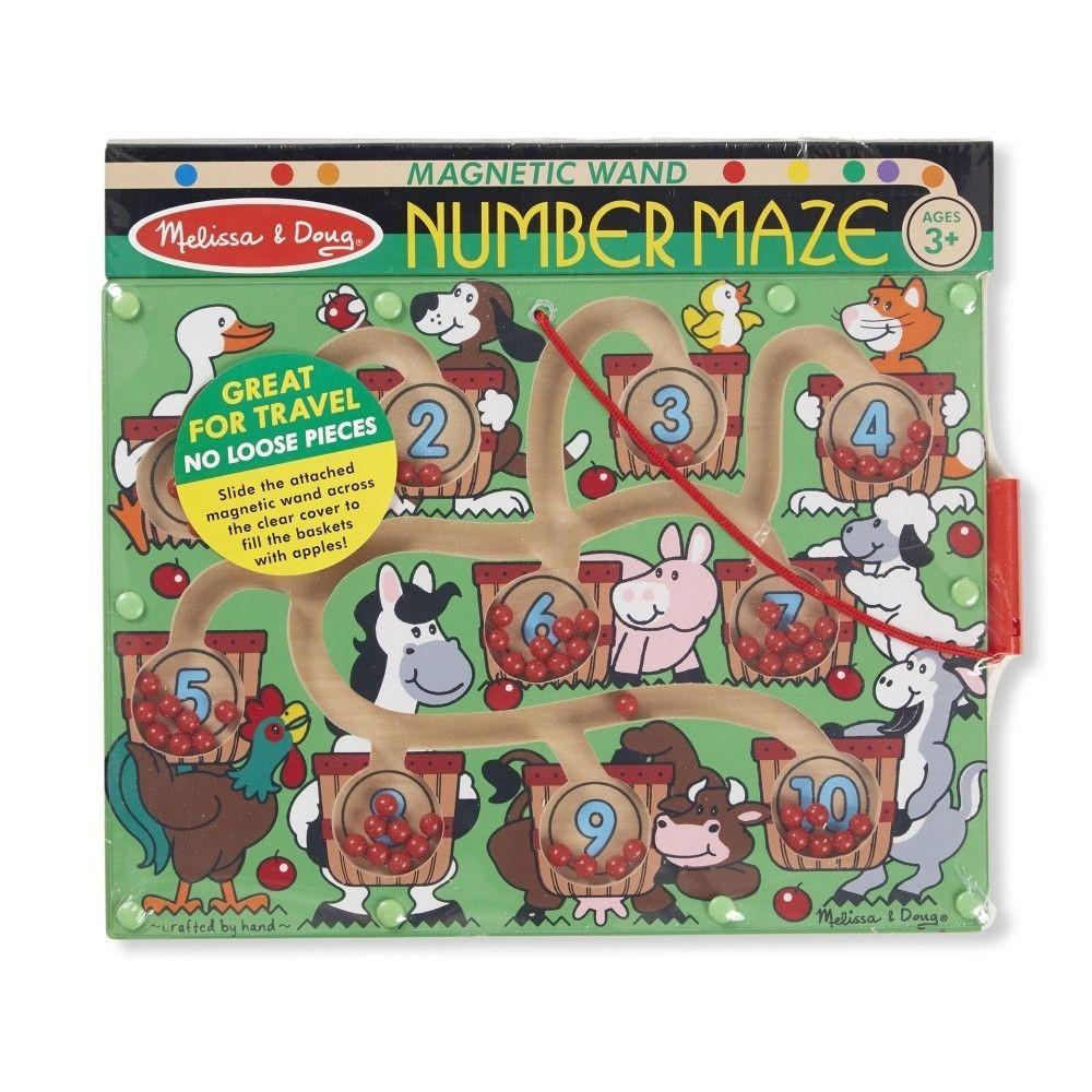 Mágneses számolós labirintus