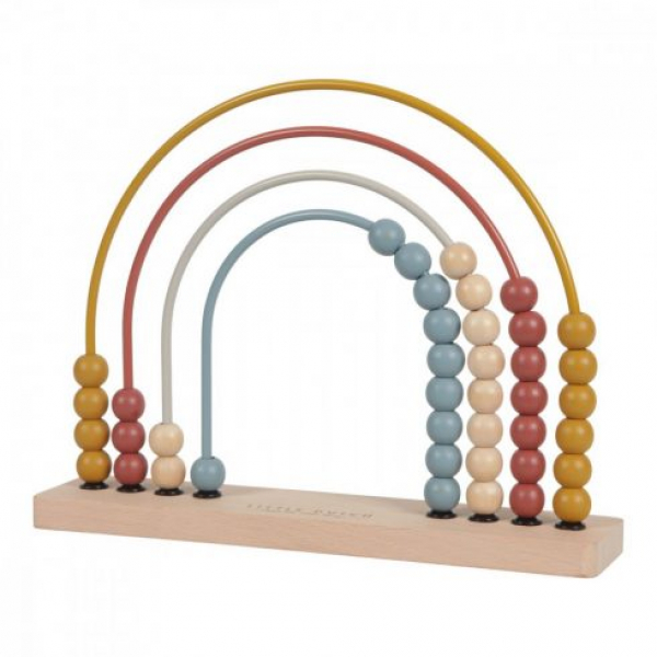 Pure&Nature fa szivárvány abacus