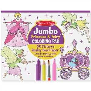 Jumbo színező - Hercegnők és tündérek