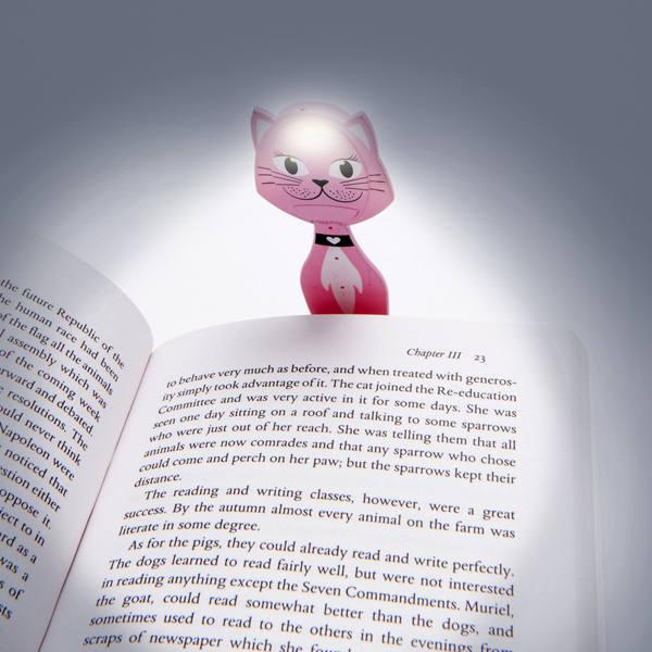 Olvasólámpa - Cica
