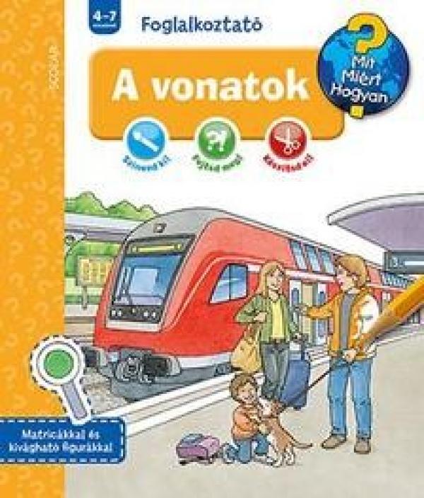 A vonatok - Mit? Miért? Hogyan? - Foglalkoztató