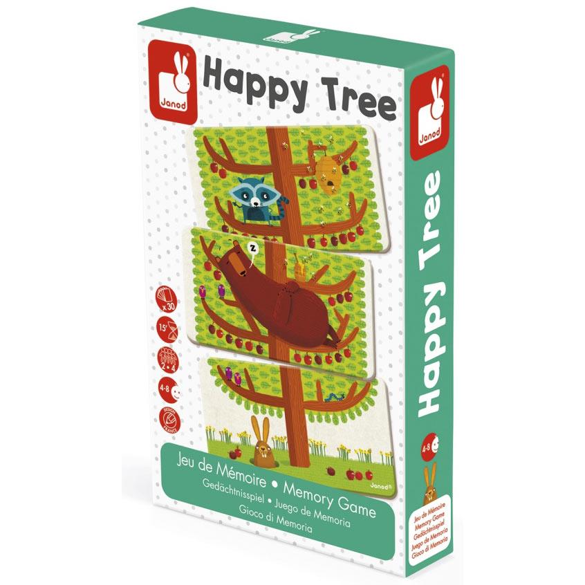 Happy tree - Boldog fa - memóriajáték