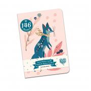 Jegyzetfüzet 146 db matricával - Lucille